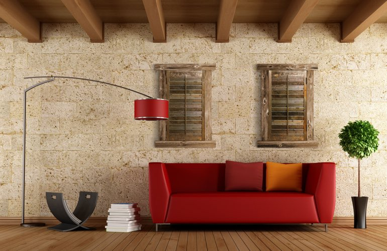 Newest Window Treatment Trends In Houston: Reclaimed Wood Shutters